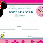 Download Free Printable Mickey Mouse Baby Shower Invitation | Free   Free Printable Minnie Mouse Baby Shower Invitations