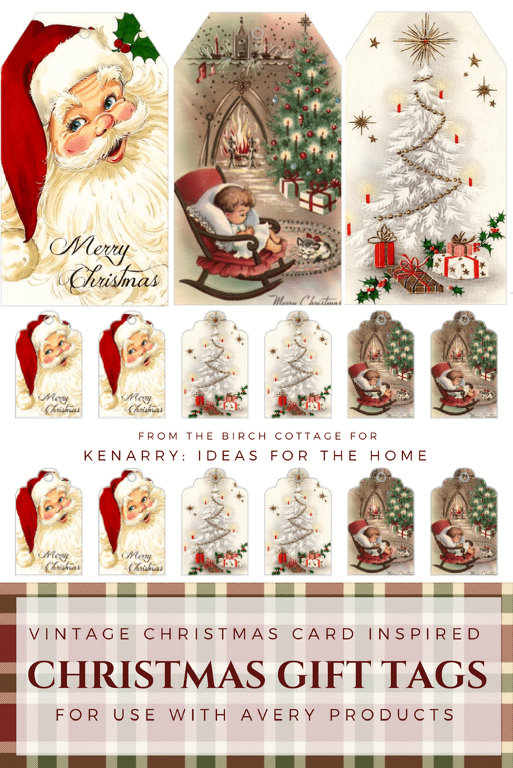 Download Free Printable Vintage Christmas Gift Tags For Holiday - Free Printable Vintage Christmas Tags For Gifts