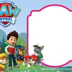 Download Paw Patrol Birthday Invitation Template   Most Complete   Free Printable Paw Patrol Invitations