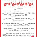 Download Your Free Printable Christmas Mad Libs! Kids And Adults Of   Christmas Mad Libs Printable Free