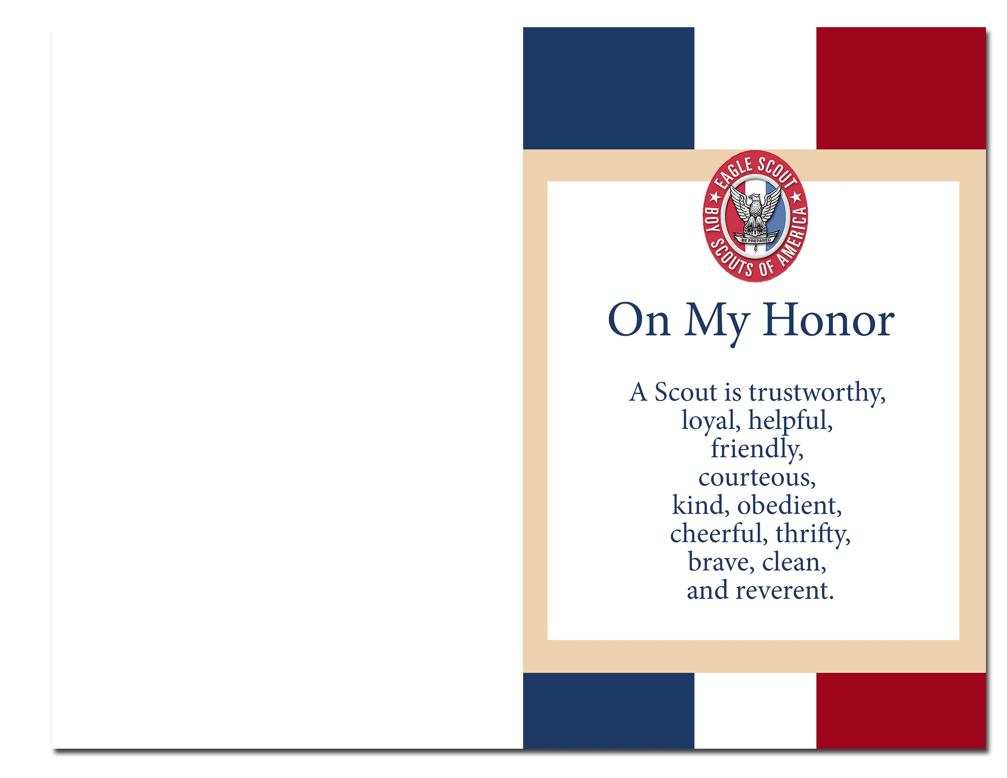 Eagle Scout Court Of Honor Ideas And Free Printables   Information - Eagle Scout Cards Free Printable