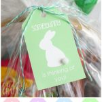 Easter Basket For Mom With Printable Easter Tags   Cutesy Crafts   Free Printable Easter Basket Name Tags