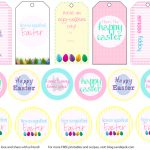 Easter Tags – Happy Easter & Thanksgiving 2018   Free Printable Easter Basket Name Tags