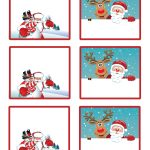 Easy Free Letter From Santa Magical Package | Christmas | Free   Free Printable Gift Name Tags
