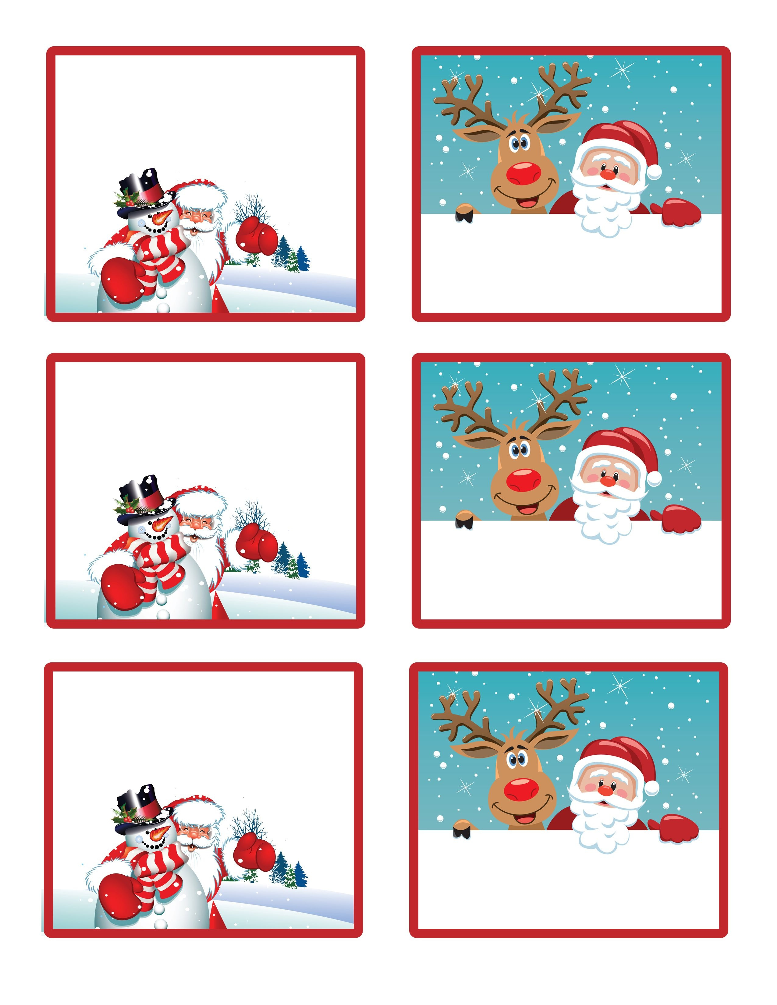 Easy Free Letter From Santa Magical Package | Christmas | Free - Free Printable Gift Name Tags