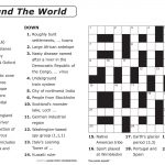 Easy Printable Crossword Puzzles | Elder Care & Dementia Care   Create A Crossword Puzzle Free Printable