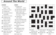 Easy Printable Crossword Puzzles | Elder Care & Dementia Care – Create A Crossword Puzzle Free Printable
