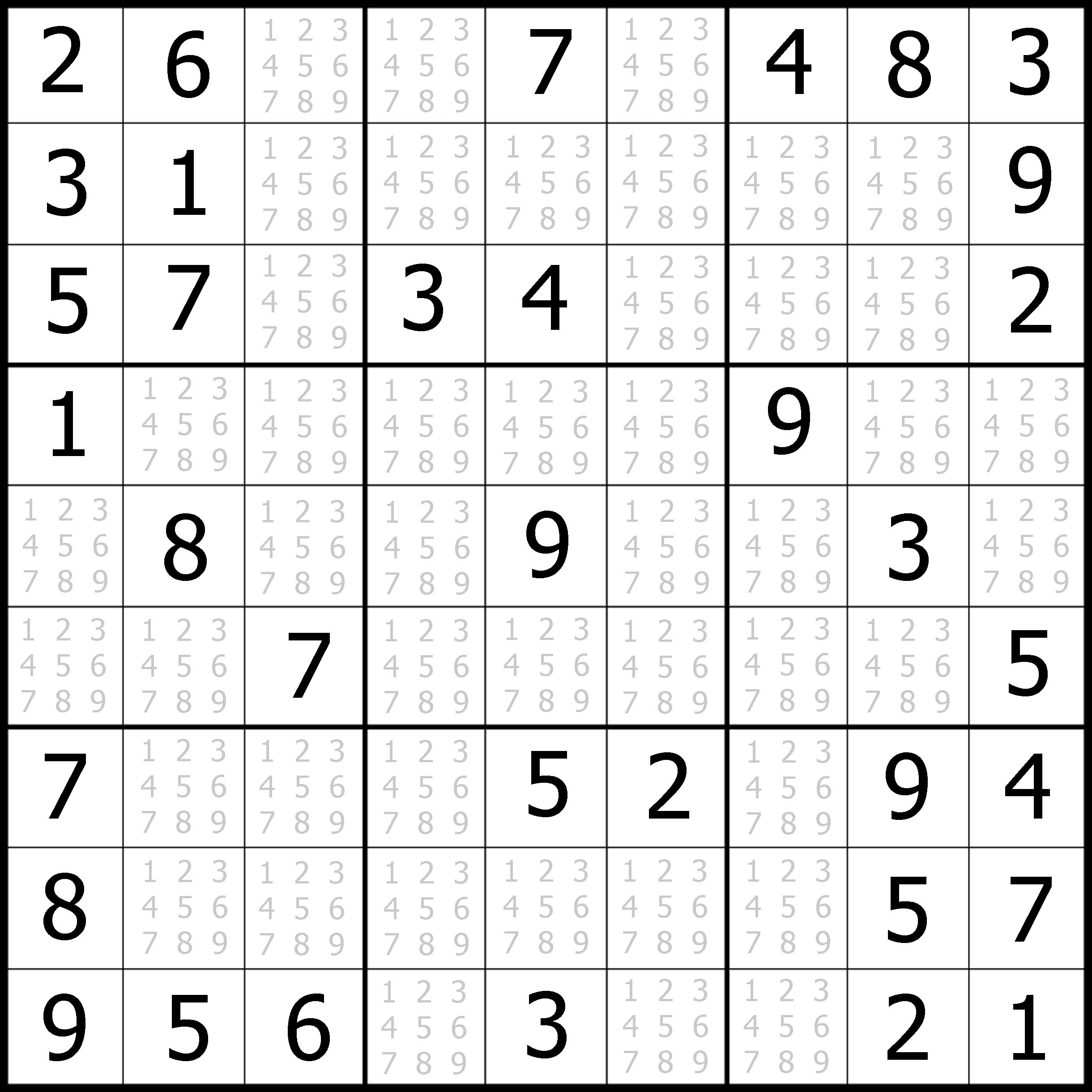Easy Sudoku Printable | Kids Activities - Free Printable Sudoku With Answers
