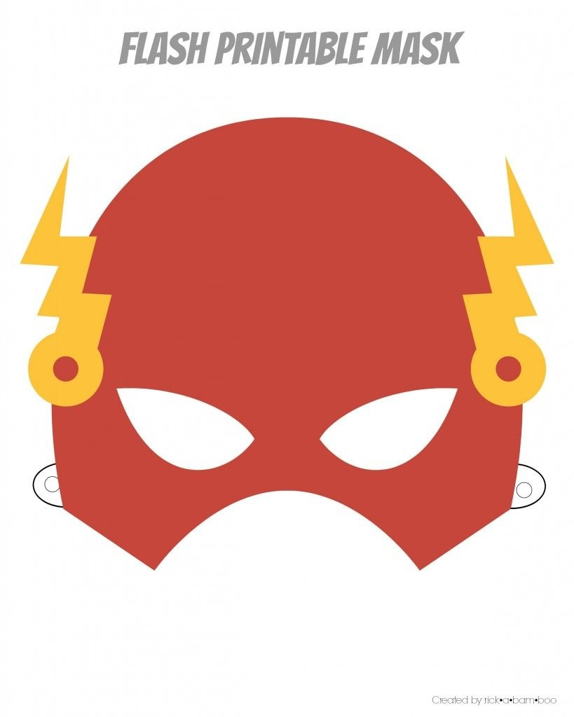 Easy Superhero Mask Template (Free!!) | Paper Masks | Printable - Superman Mask Printable Free