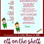 Elf On The Shelf Letters {Free Printables}   Crafty Mama In Me!   Free Printable Elf On The Shelf Letter
