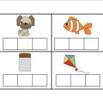 Elkonin Boxes Template. Elkonin Boxes Phonics Worksheets. Printable – Free Printable Elkonin Boxes