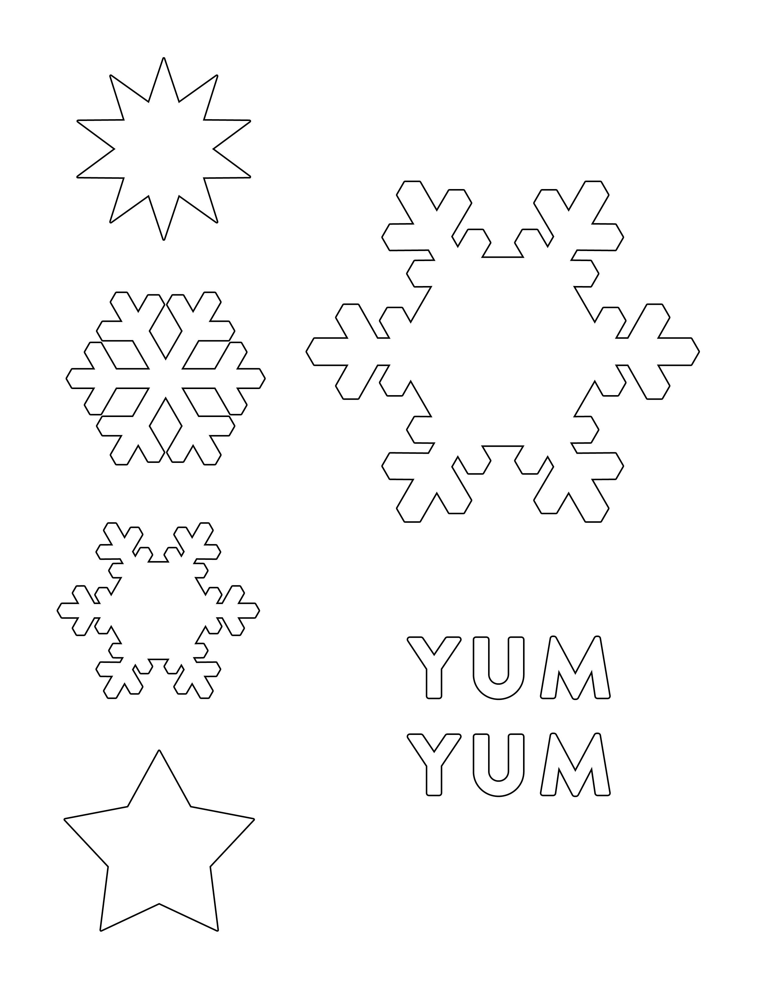 Elsa Hair Slide | Frozen Party | Frozen Snowflake, Snowflake - Snowflake Template Free Printable