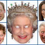 English Royal Family Free Printable Masks.   Oh My Fiesta! In English   Free Printable Face Masks