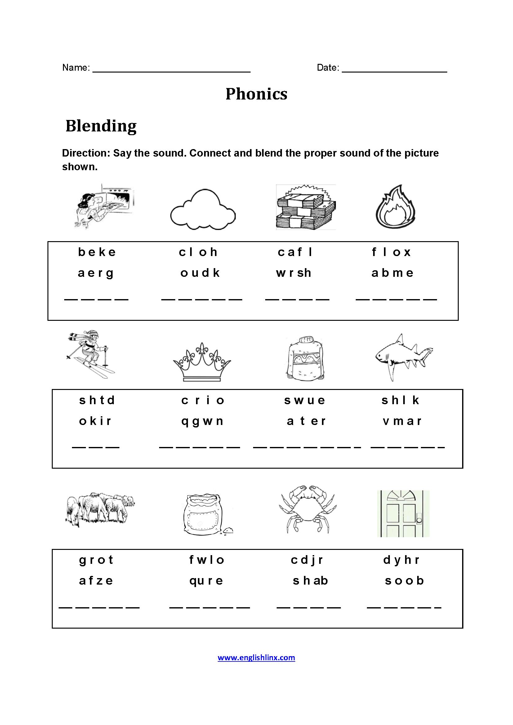 Englishlinx | Phonics Worksheets - Free Printable Phonics Worksheets For 4Th Grade