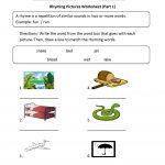 Englishlinx | Rhyming Worksheets   Free Printable Rhyming Words