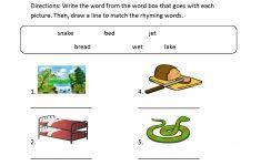 Englishlinx | Rhyming Worksheets – Free Printable Rhyming Words