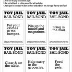 Enough! Why You Should Put Your Kids Toys In Jail & How Your Child   Get Out Of Jail Free Card Printable