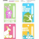 Every Cool Easter Basket Needs A Cool Tag. I've Got Just The Thing   Free Printable Easter Basket Name Tags