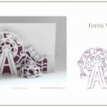 Excellent Pop Up Card Templates Free Template Ideas Patterns   Free Printable Kirigami Pop Up Card Patterns