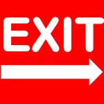 Exit Sign   Free Printable No Exit Signs