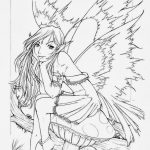 Fairy Coloring Pages Detailed Fairy Coloring Pages For Adults Free   Free Printable Coloring Pages For Adults Dark Fairies