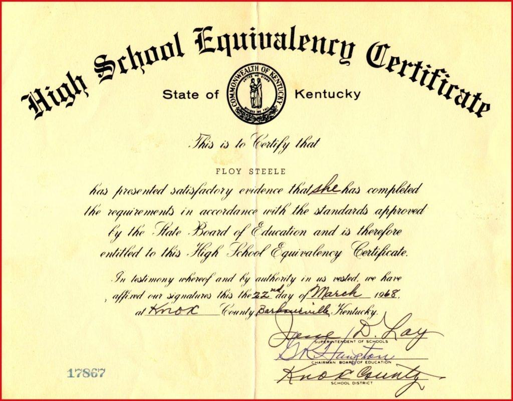 Fake Ged Certificate For Free   Katieroseintimates - Free Printable Ged Certificate