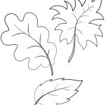 Fall Autumn Leaves Coloring Page | Free Printable Coloring Pages   Free Printable Pictures Of Autumn Leaves