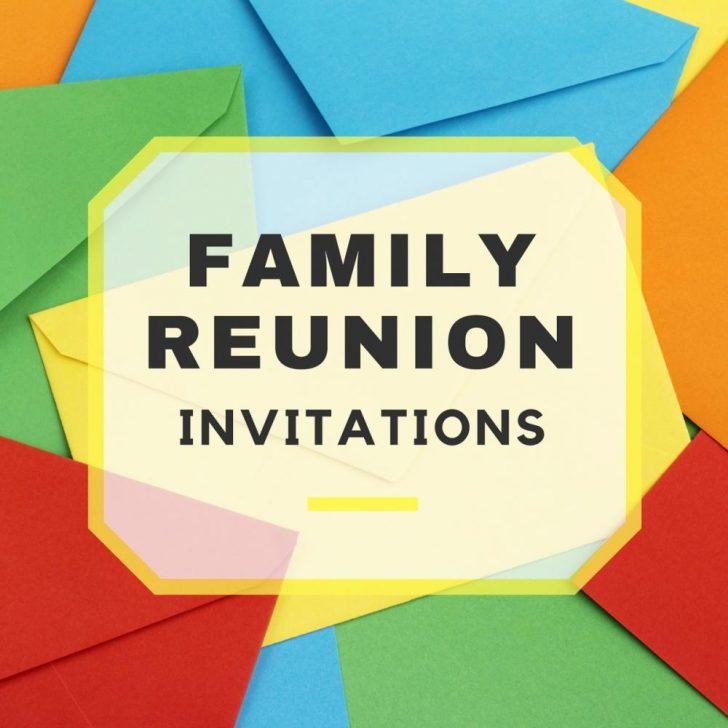 Free Printable Family Reunion Invitations