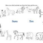 Farm And Zoo Animals Worksheet   Free Esl Printable Worksheets Made   Free Printable Zoo Worksheets