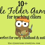 File Folder Games For Teaching Colors   Free Printable File Folders For Preschoolers
