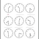 First Grade Time Worksheets First Grade Telling Time Worksheets And   Free Printable Telling Time Worksheets For 1St Grade
