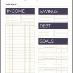 Fix Your Finances Asap With My (Free) Simple Monthly Budget Template   Free Printable Budget Templates