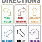 Flash Cards Directions | Places To Visit | Esl, Worksheets, Learn   Free Printable Ged Flashcards
