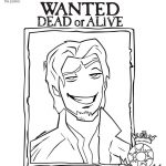 Flynn Rider Coloring Page. Blow This Up For Pin The Nose On Flynn   Free Printable Flynn Rider Wanted Poster