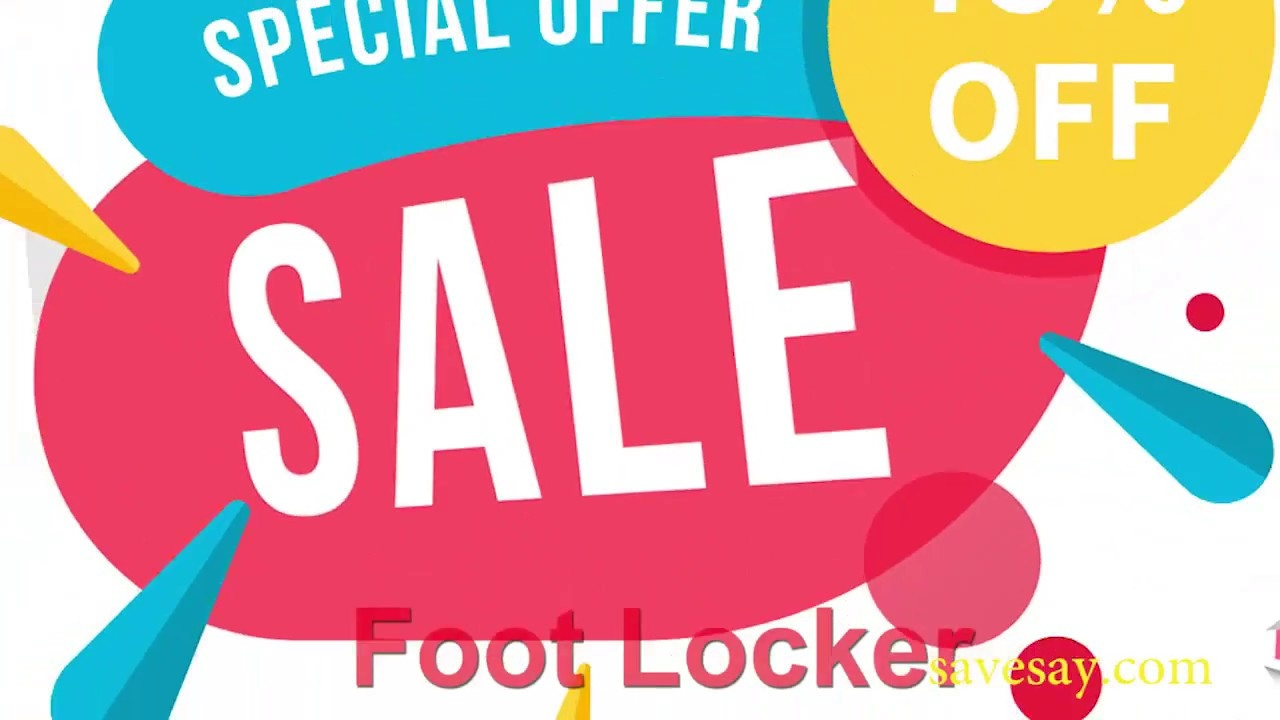 Foot Locker Coupons: 100% Working(Daily Update) - Youtube - Free Printable Footlocker Coupons