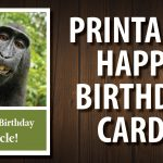 For Your Uncle | Printable Happy Birthday Cards   Free Printable Cards No Download Required