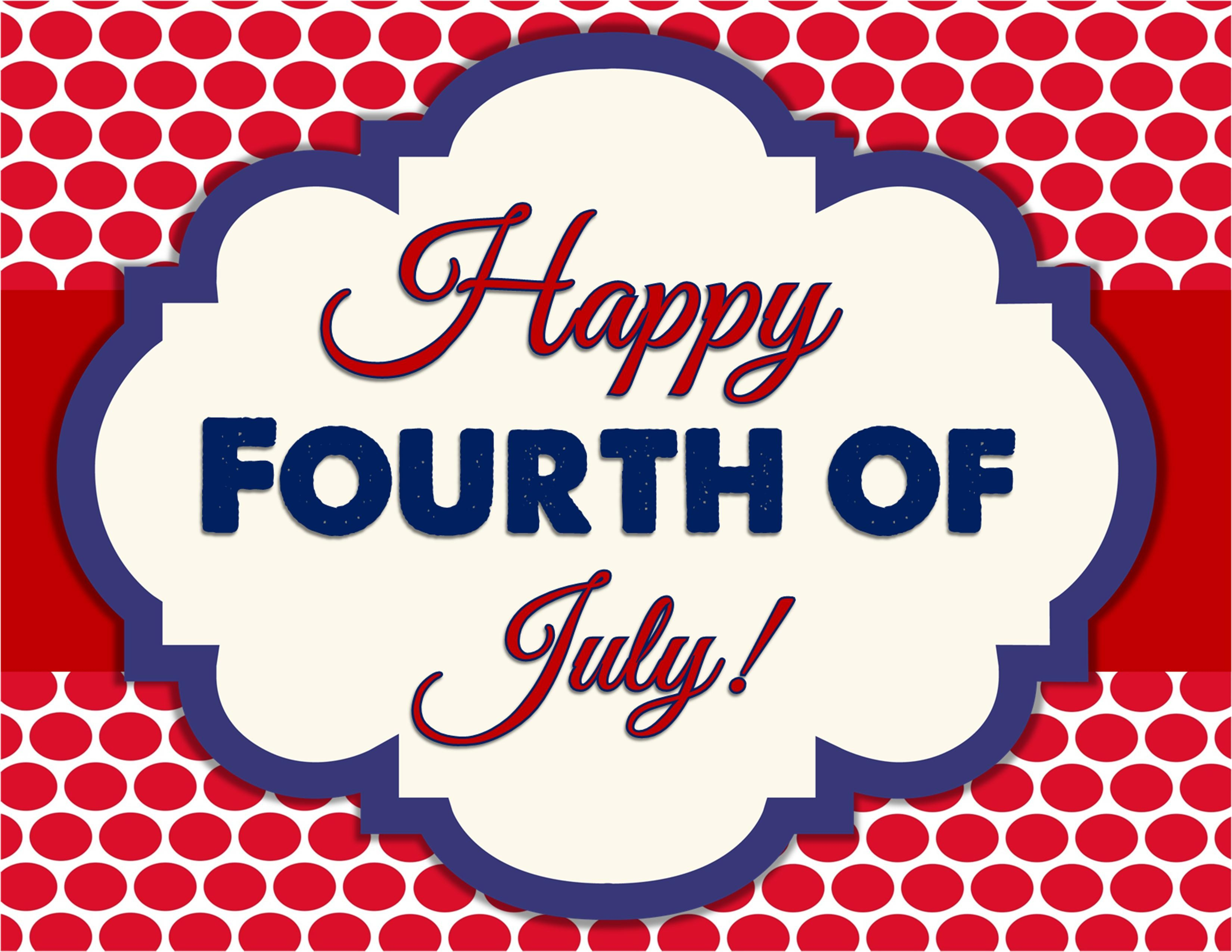 Fourth Of July Images Clipart - Free Printable Calendar, Blank - Free Printable Clipart For August