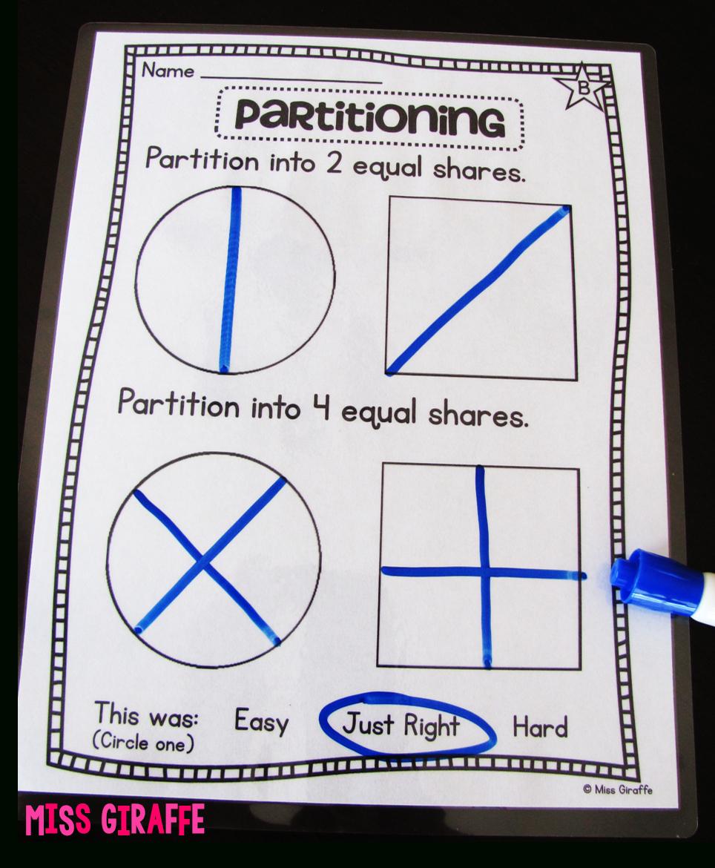 Fractions In First Grade | Math | Third Grade Math, 2Nd Grade Math - Free Printable First Grade Fraction Worksheets