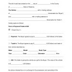 Free Alabama Motor Vehicle Bill Of Sale Form   Word | Pdf | Eforms   Free Printable Blank Auto Bill Of Sale
