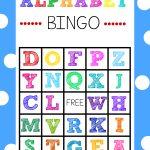 Free Alphabet Bingo Boards. Such A Fun Abc Game For Kids! | Abc   Free Printable Alphabet Games