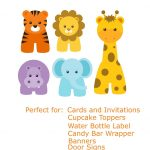 Free Baby Animal Clip Art | Paper Parties: Baby Safari Clip Art   Free Printable Baby Jungle Animal Clipart