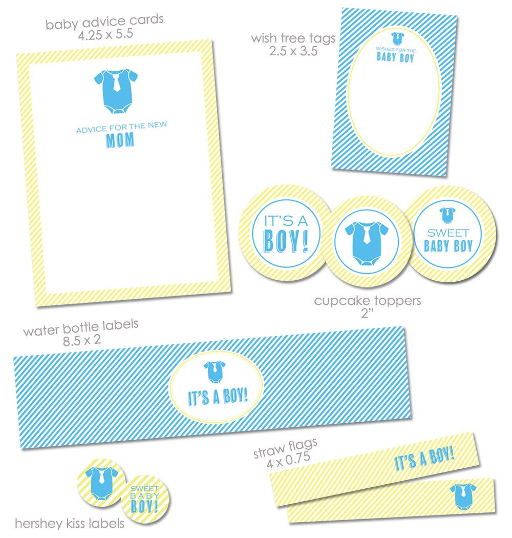 Free Baby Shower Images Boy, Download Free Clip Art, Free Clip Art - Free Printable Baby Shower Decorations For A Boy