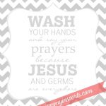 Free Bathroom Printable | Camp Ideas | Bathroom Kids, Kids Bathroom   Wash Your Hands And Say Your Prayers Free Printable