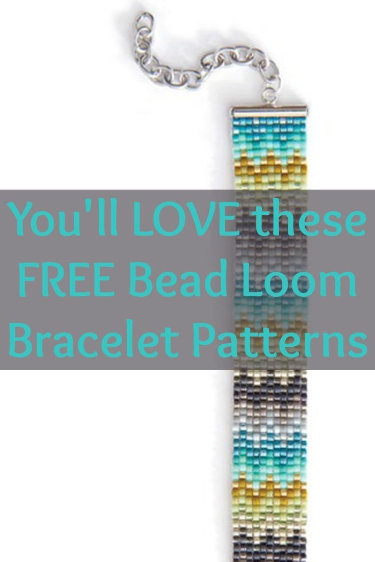 Free Beading Patterns You Have To Try | Zentangle | Loom Bracelet - Free Printable Bead Loom Patterns