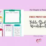 Free Bible Journal Key Worksheet – Bible Journal Love   Free Printable Bible Study Journal Pages