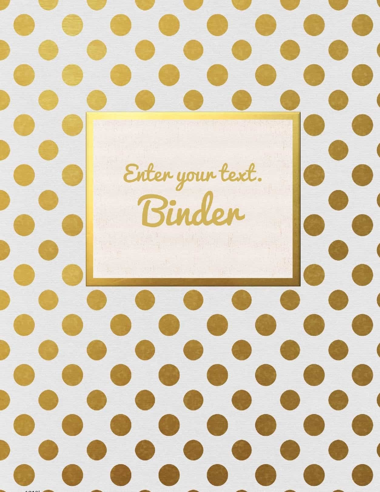 Free Binder Cover Templates | Customize Online & Print At Home | Free! - Cute Free Printable Binder Covers