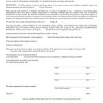 Free Blank Purchase Agreement Form Images   Agreement To Purchase   Free Printable Real Estate Contracts