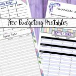 Free Budgeting Printables: Expense Tracker, Budget, & Goal Setting   Free Printable Daily Expense Tracker