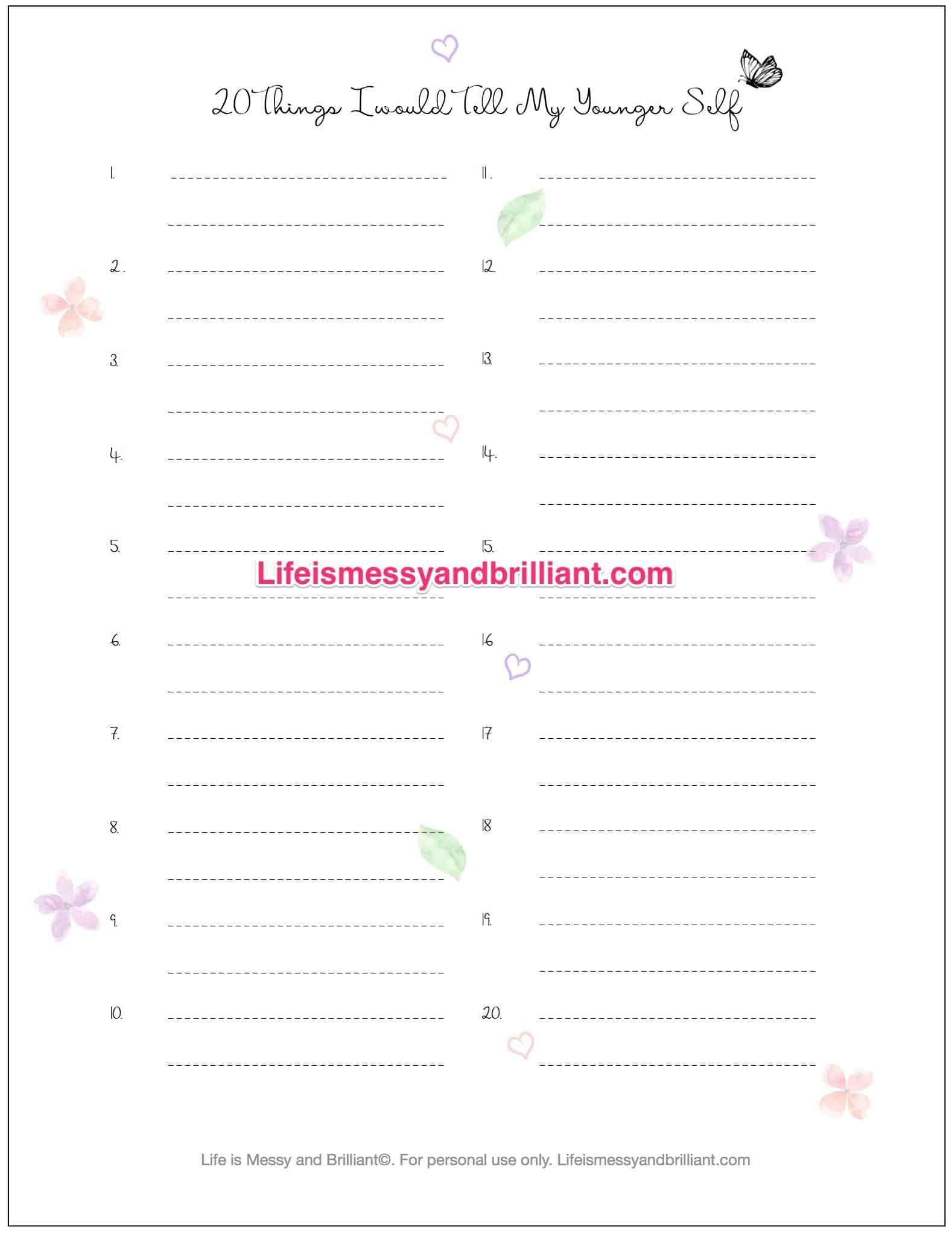 Free Bullet Journal Printables | Drawing | Bullet Journal Printables - Free Printable Journal Pages