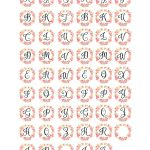 Free Cabochon Images Initials   Free Pretty Things For You   Free Printable Cabochon Templates